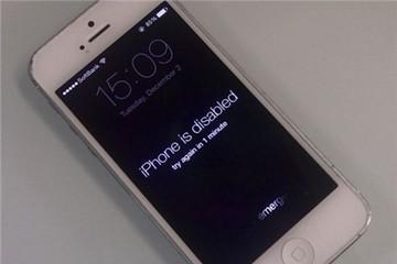 Nhập sai mã PIN, iPhone bị khóa tới 45 năm