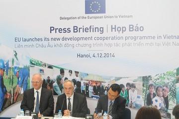 EU công bố gói hỗ trợ 400 triệu Euro cho Việt Nam giai đoạn 2014-2020, lãi suất 0%