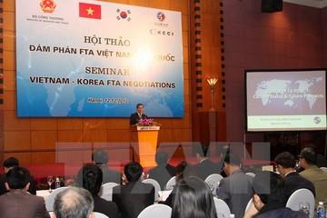 Hàn Quốc và Việt Nam tiến hành vòng đàm phán FTA thứ 9