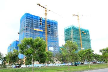 HQC: Dự án Nhà ở xã hội HQC Plaza cất nóc HQ1 và HQ2