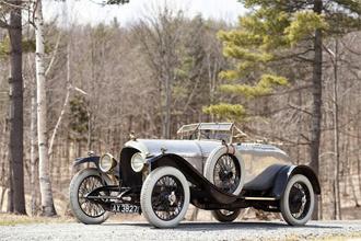 Đấu giá chiếc xe đầu tiên của Bentley