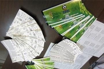 Giấy mời xem trận Việt Nam - Malaysia được rao bán 6 triệu