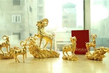 Nửa tỷ một bộ Dê vàng phục vụ đại gia chơi Tết