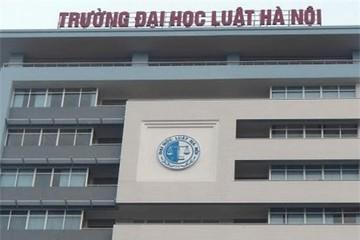 Lùm xùm thi cao học ở ĐH Luật Hà Nội