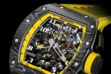 Bắt mắt với đồng hồ RM011 Yellow Storm hơn 3,6 tỷ đồng của Richard Mille