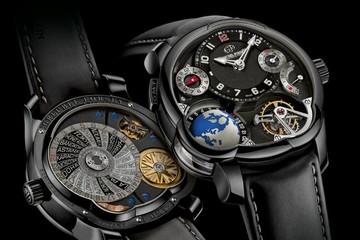 """""""Siêu độc"""" với đồng hồ GMT Black 12 tỷ đồng của Greubel Forsey"""