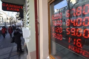 Đồng Rúp tiếp tục giảm do không thấy giải pháp từ Tổng thống Nga