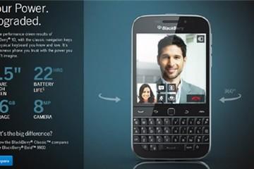 Vì sao BlackBerry Classic quan trọng với BlackBerry?