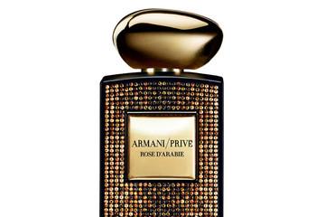 Quyến rũ với bộ sưu tập nước hoa cao cấp giới hạn Armani Privé Rose d'Arabie  của Swarowski