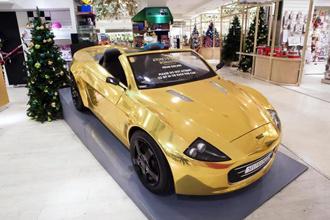 Xe điện mạ vàng cho trẻ em đắt ngang ô tô xịn