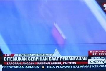 Indonesia: Các mảnh vỡ trôi nổi là của máy bay AirAsia mất tích