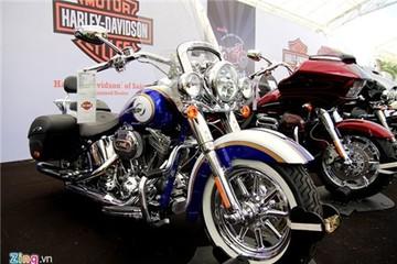 Harley-Davidson CVO Softail giá ngang Mercedes tại Việt Nam