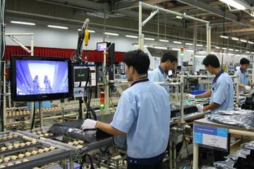 Điện tử, máy tính dẫn đầu chỉ số sản xuất công nghiệp 2014