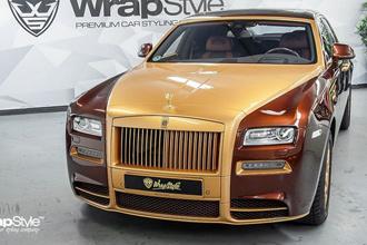 """Rolls-Royce Phantom """"lột xác"""" qua 2 lần độ"""