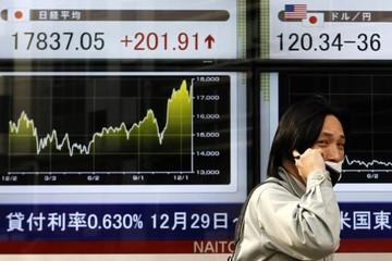 Đầu phiên 5/1: Chứng khoán Châu Á giảm nhẹ, đồng Euro và giá dầu giảm