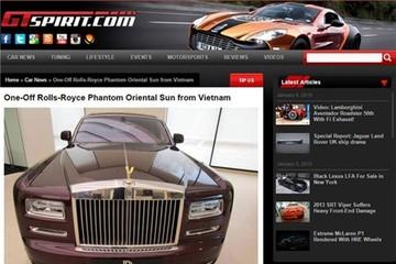 Rolls-Royce Phantom độc nhất vô nhị tại Việt Nam lên