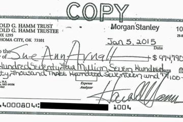 Vợ cũ tỷ phú dầu lửa từ chối số tiền gần 1 tỷ USD