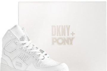 DKNY và Pony hợp tác ra mắt giày chơi quần vợt cao cấp
