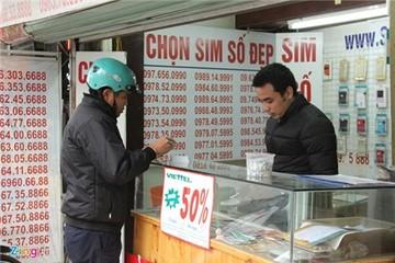 Bỏ sim 11 số: Người Hà Nội lo mất tiền, Sài Gòn săn số đẹp