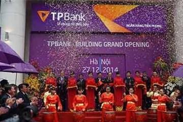 2014, lợi nhuận TPBank đạt 536  tỷ đồng, bằng 112% kế hoạch
