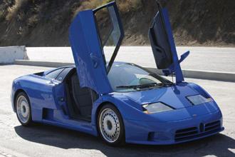 Đấu giá hàng hiếm Bugatti EB110 GT