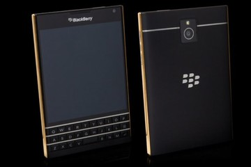 Lộ diện BlackBerry Passport phiên bản vàng, bạch kim và vàng hồng