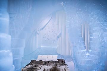 Đến thăm khách sạn băng độc đáo