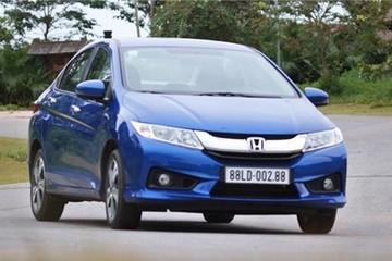 City là dòng xe bán chạy nhất năm 2014 của Honda VN
