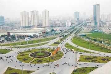 Khởi công xây dựng nút giao Trung Hòa - Vành đai 3