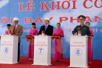 Khởi công xây dựng sân bay Phan Thiết theo hình thức BOT