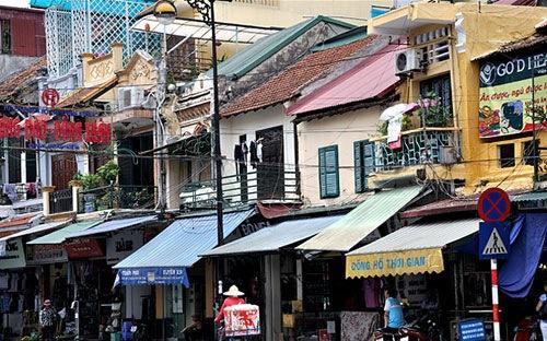 Di dời dân phố cổ Hà Nội: Miễn phí nhà dưới 30 m2