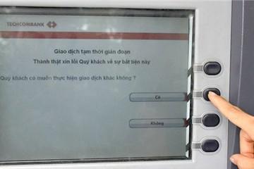 """Sẽ có xử phạt """"nóng"""" ATM"""