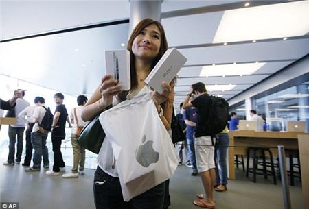 Người châu Á ngày càng mê iPhone?