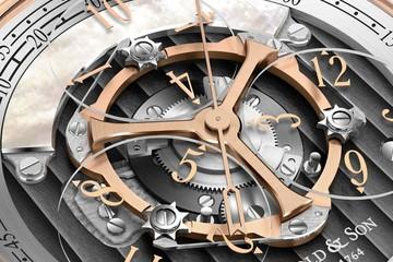Golden Wheel - tuyệt phẩm mới nhất của Arnold & Son