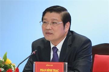 Ông Phan Đình Trạc điều hành công việc của Ban Nội chính Trung ương