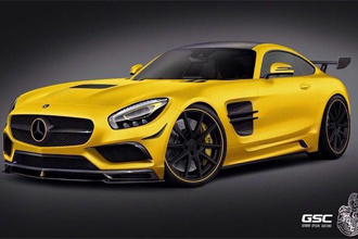 German Special Customs độ Mercedes-AMG GT