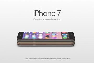 Ý tưởng iPhone 7 siêu mỏng với bộ vỏ nhiều màu