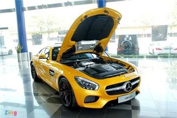 Ảnh chi tiết siêu xe Mercedes GT S hơn 8 tỷ tại Việt Nam