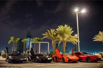 Mãn nhãn với những chiếc siêu xe tràn ngập trên đường phố Qatar