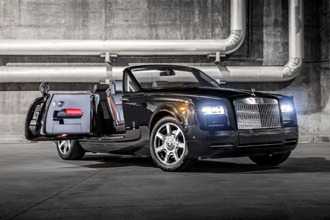 Rolls-Royce ra mắt Phantom Drophead Coupe Nighthawk ở Bắc Mỹ
