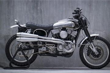 Lột xác Harley-Davidson 883 thành Scrambler kiểu Mỹ