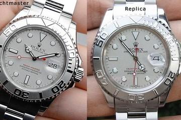 Bí kíp để phân biệt đồng hồ hàng hiệu thật và giả