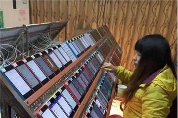 Bức ảnh mô tả cách tăng hạng trên App Store đang lan truyền chóng mặt tại Trung Quốc