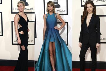 2014 vs 2015: Phong cách của sao trên thảm đỏ Grammy Awards