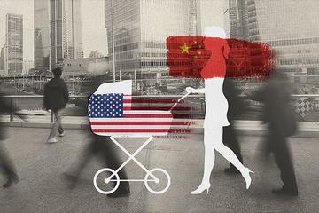 Tại sao phụ nữ Trung Quốc muốn có con Mỹ?