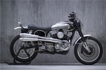 Harley Iron 883 độ theo phong cách scrambler lạ mắt