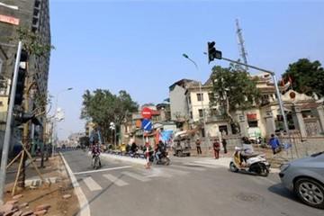 Thêm tuyến đường đắt kỷ lục ở Hà Nội được thông xe