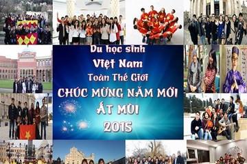 Xúc động với clip chúc Tết của du học sinh Việt trên toàn thế giới