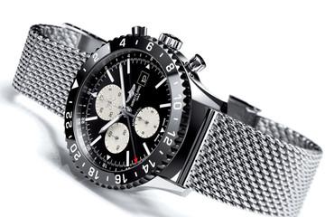 Cơ trưởng chơi sang với đồng hồ mới Chronoliner Flight Captain Chronograph của Breitling