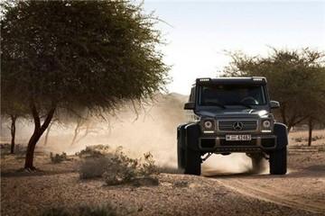 Mercedes bán hết G63 AMG 6x6 giá 600.000 USD